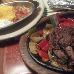 can you hear the steak fajitas sizzling on the skillet?