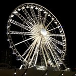 the Wheel by night