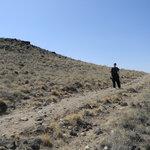 Hiking the Trail Around the Volcano