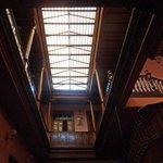 Skylight in the restaurant L`Eau Vive