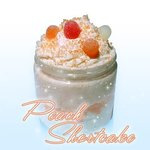 Our Peach Shortcake Body Scrub!