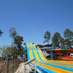 Massive water slide