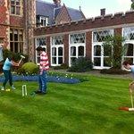 The croquet garden