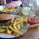 GF & DF burger from heaven