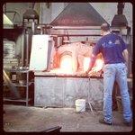 Murano making