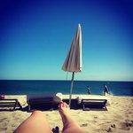 vu de la plage
