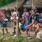 Tribal drummers!