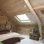 Hotel Rural en Galicia en Rias Baixas Habitación Abuhardillada