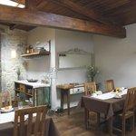 Hotel Rural en Galicia en Rias Baixas comedor desayunos