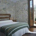 Hotel Rural en Galicia en Rias Baixas Habitación con terraza