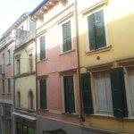 dalla finestra vista di Via Mazzini