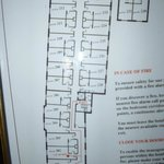 Useful to gauge room sizes and location..on 2nd floor.
