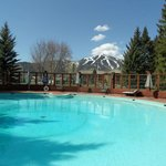 Sun Valley Inn, poolside