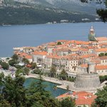 A view of Korcula