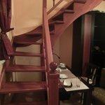 Лестница на 2й ярус