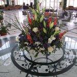 flowers in Hotel