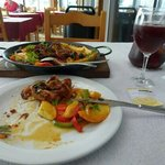 Octopus and sangria at Cais 20