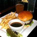 Big ole hearty burger - yeah!