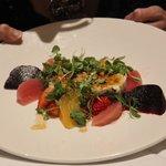beet salad so pretty and yummy