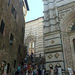 stairs to the Duomo