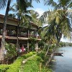 Hoi An Riverside Resort & Spa - view from breakfast area