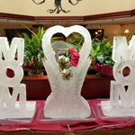 Mother's Day Ice Sculptures