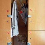 Personal Locker in 4 person dorm