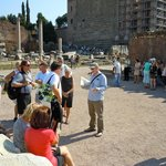 Touring the Roman Forum with Stuart Harvey
