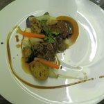 Charolais de Changy maison Chavanon et truffe d'automne, légumes de saison