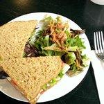 Whole Wheat Turkey Cranberry Sandwich