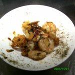 Fresh Salt and pepper king prawns in Homemade tempura batter