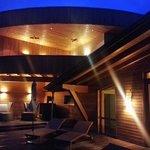 Dachterrasse mit Ruheraum und Liegen