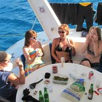 Relax aboard Captain Vincent Catamaran