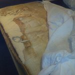 Disintegrated mattress and filthy mattress protector