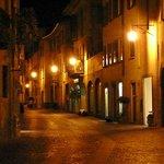 Ambiance de nuit à Chiavenna.