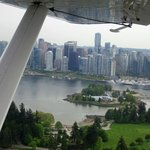 Arriving downtown Vancouver