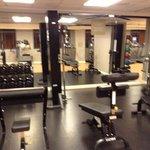 Pretty nice fitness room
