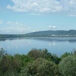 Lac de Varèse depuis la terrasse