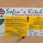 Sofia's Kitchen & Burrito Tyme