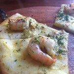 Prawn. Chilli & Garlic Bread