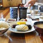 The Japanese breakfast - clearly I enjoyed - those mushrooms - sooo good
