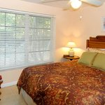 Cottages are furnished with antiques and have queen size beds