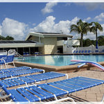 largest heated pool on the Siesta Key!