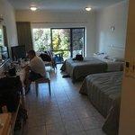 Bedroom w/ garden view