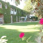 outside garden are for events/weddings
