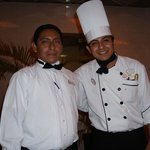 Chef and helper created a GREAT experience at Chefs Table