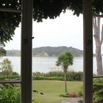 The view from the dining room table at Waters Edge