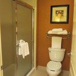 One bedroom King Suite bathroom