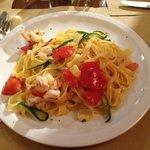 Tagliatelle Mazzancolle e Zucchine
