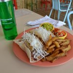 The most amazing fish tacos on the planet
